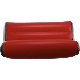 nortik Residair Inflatable Sofa, rot/schwarz